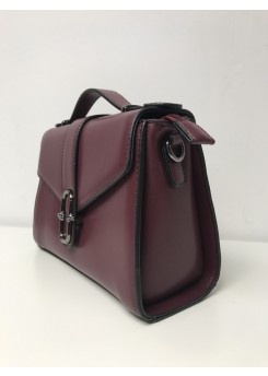 Bordowa torebka damska